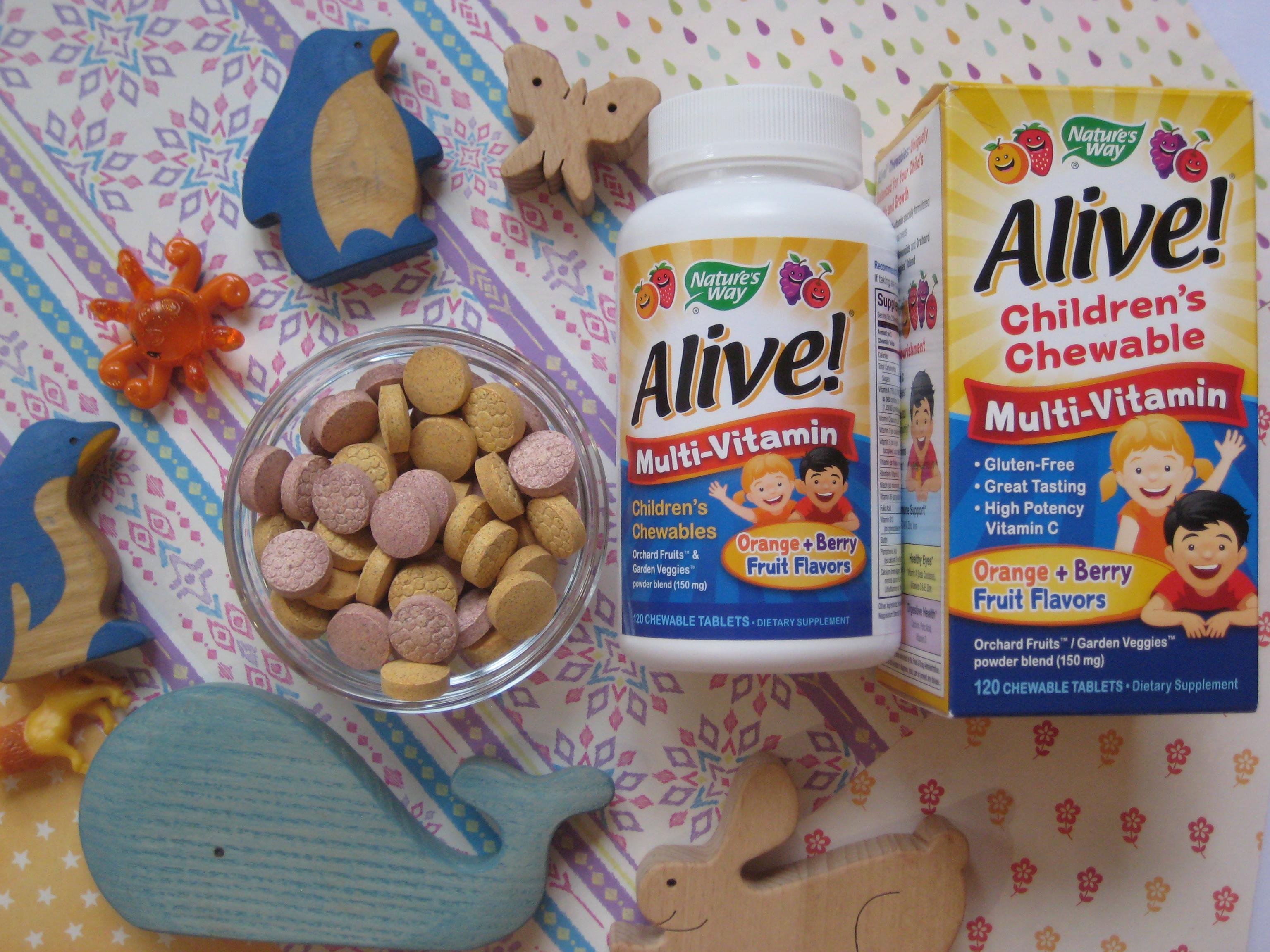 Мультивитамины для детей — Nature's Way, Alive отзыв