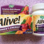 Мультивитамины для женщин - Nature's Way Alive, Женская Энергия