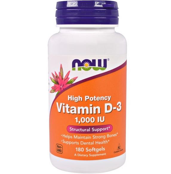 Now Foods, Витамин Д review