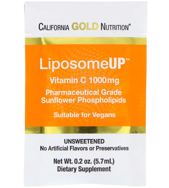 California Gold Nutrition, LiposomeUP review