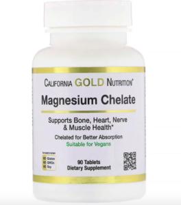 California Gold Nutrition хелат магния