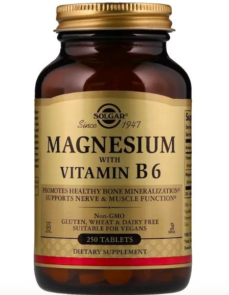 Solgar, Магний, с витамином В6 review