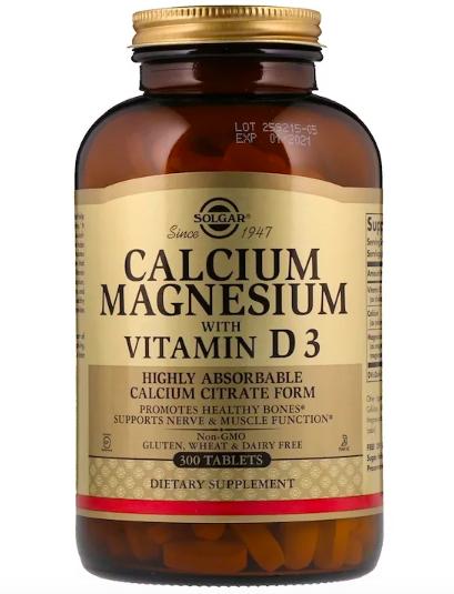 Solgar, Кальций и магний с витамином D3 review
