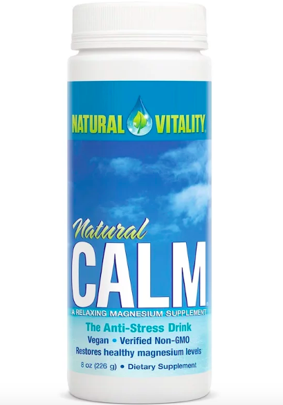 Natural Vitality, Natural Calm, напиток против стресса review