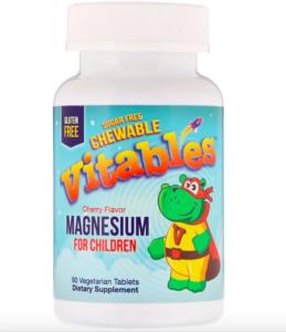 vitables магний для детей iherb