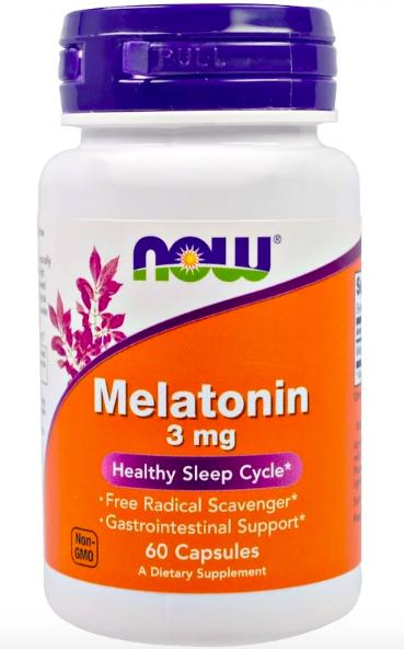 Now Foods, Мелатонин review