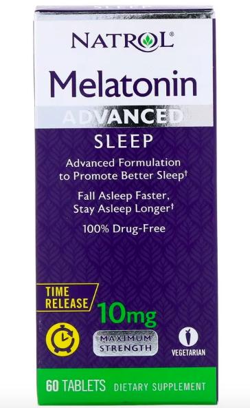 Natrol, Мелатонин, улучшенный сон review