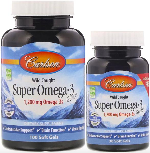 Carlson Labs, Супер жемчужины с Омега-3 review