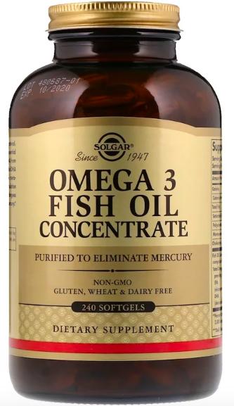 Solgar, Омега-3 рыбий жир review