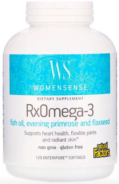 Natural Factors, WomenSense, RxOmega-3 review
