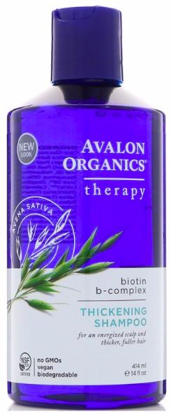 Avalon Organics, Шампунь для густоты волос, терапия с комплексом биотина B. review