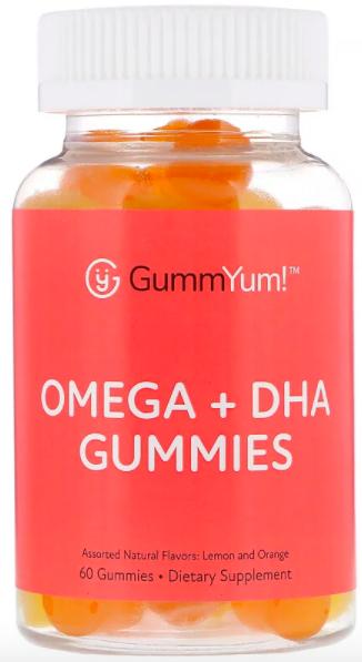 GummYum!, Жевательные таблетки с омега и ДГК review