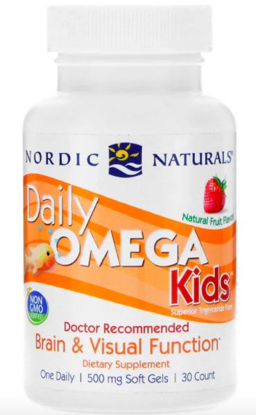 Nordic Naturals, Омега для детей, фруктовый вкус review