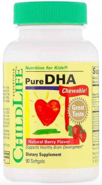 ChildLife, Чистая ДГК, вкус натуральных ягод review