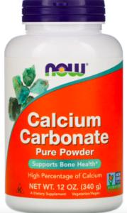 Now Foods, Calcium Carbonate Powder