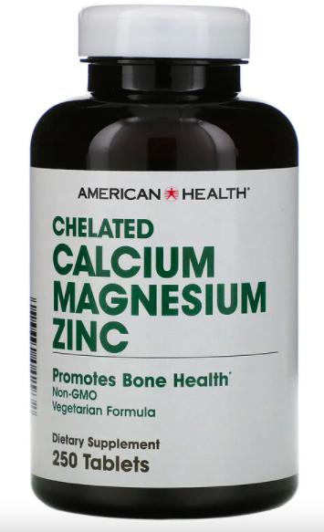 American Health, Chelated Calcium Magnesium Zinc review